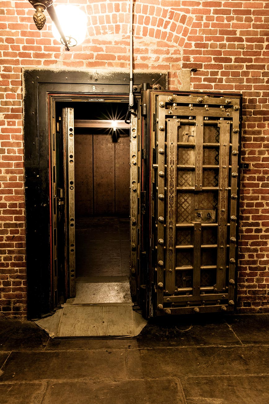 Bank Vault door at the SF Mint